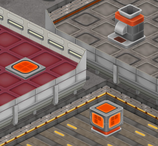 New logistics objects