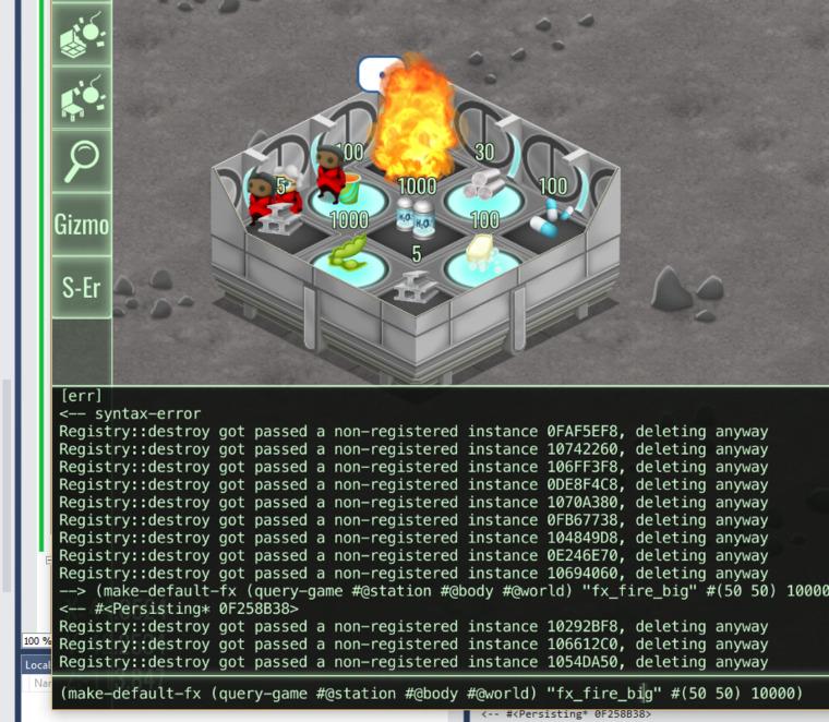 Scheme REPL and developer console
